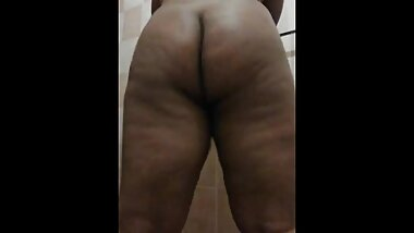 Hot and Horny thick shemale ass shake tease