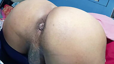 Horny Sissy big ass creampie